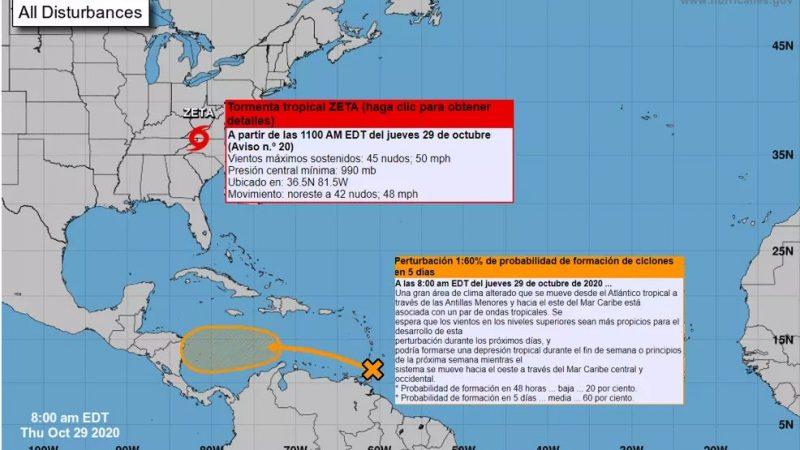 Prevén lluvias para la próxima semana Managua. Radio La Primerísima