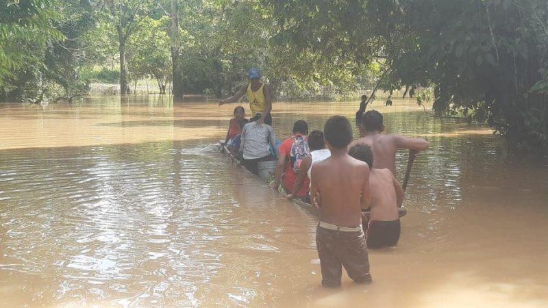Lluvias provocan anegaciones en varias zonas del país Managua. Por Rebeca Flores/Radio La Primerísima