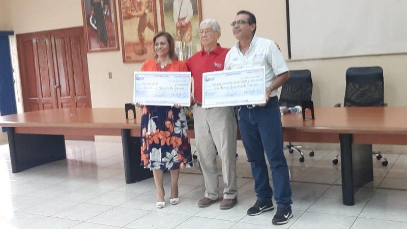 Lotería entrega utilidades al IND y MIFAMILIA Managua. Douglas Midence/Radio La Primerísima