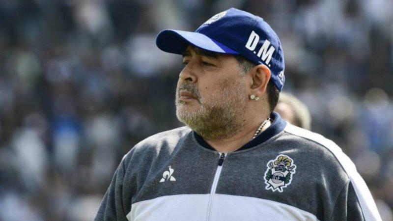 Diego Maradona impulsa campaña solidaria con la Cruz Roja Buenos Aires. Prensa Latina