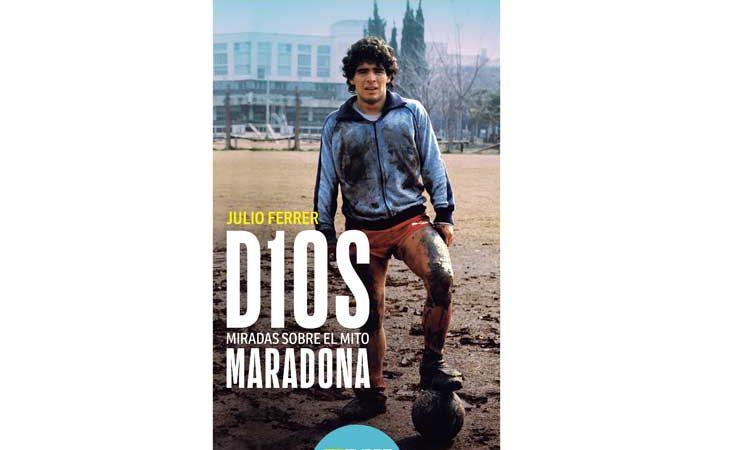 A la venta libro sobre el mito Maradona Buenos Aires. Prensa Latina