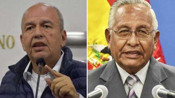 Despiden a ministros de Gobierno y Educación de Bolivia La Paz. Agencias