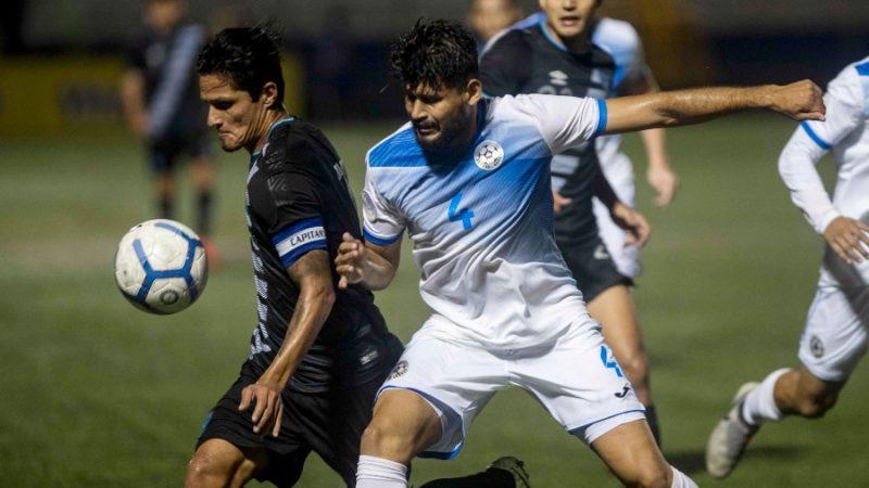 Azul y Blanco y chapines empatan sin goles en amistoso de fútbol Managua. Prensa Latina