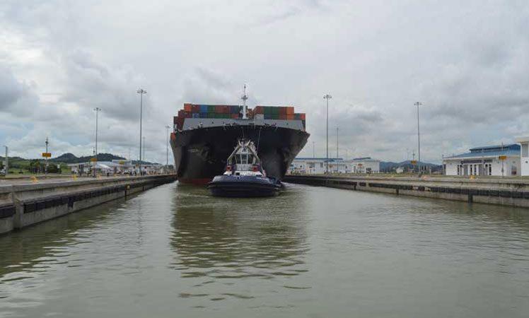 Afirman que contracción mundial de comercio afectará a canal de Panamá Ciudad Panamá. Prensa Latina