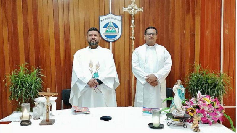 Celebran misa virtual en penales Managua. Radio La Primerísima