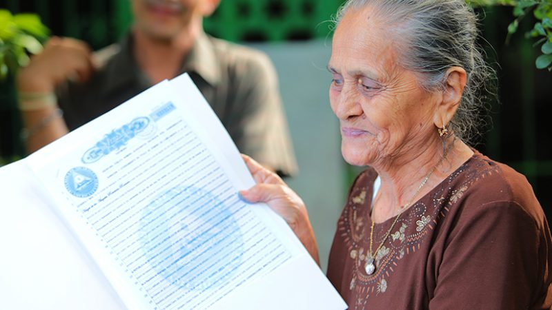 Gobierno sandinista ha entregado 457 mil 194 títulos de propiedad Managua. Douglas Midence/Radio La Primerísima