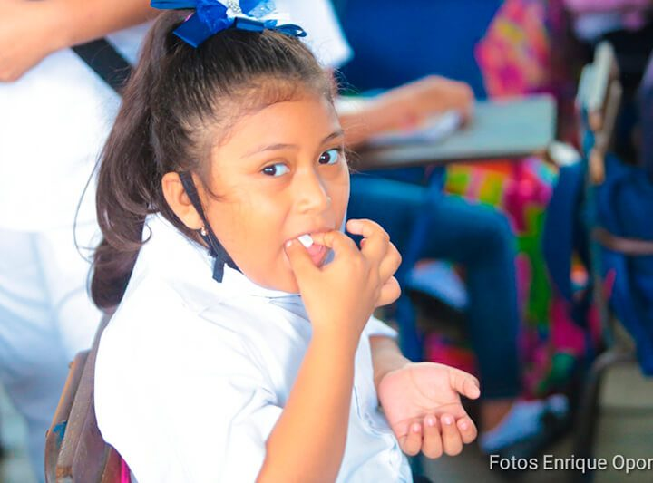Desparasitarán más de 1 millón de menores en todo el país