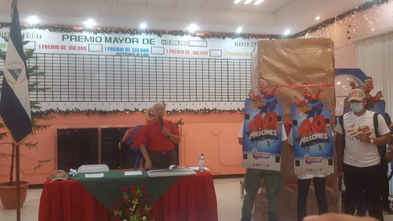 """Lotería lanza sorteo navideño """"Tu Fortuna Como Ninguna"""" Managua. Por Douglas Midence/Radio La Primerísima"""