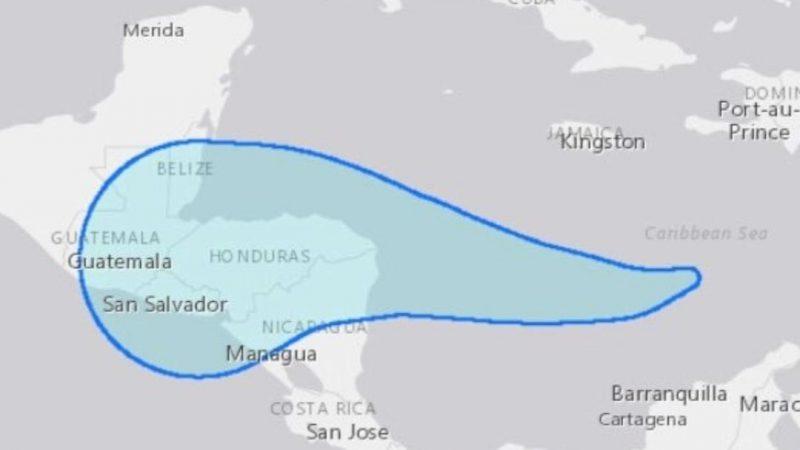 Depresión tropical se desplaza hacia costa del Caribe Norte Managua. Radio La Primerísima