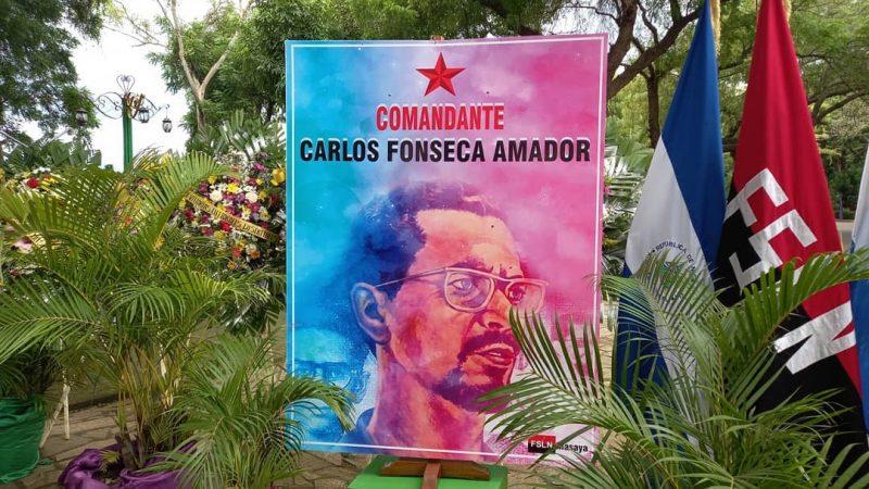 Masaya conmemora al Padre de la Revolución Managua. Radio La Primerísima.