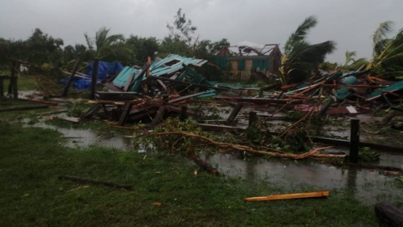 Tormenta Iota castiga a Honduras Tegucigalpa. Agencias