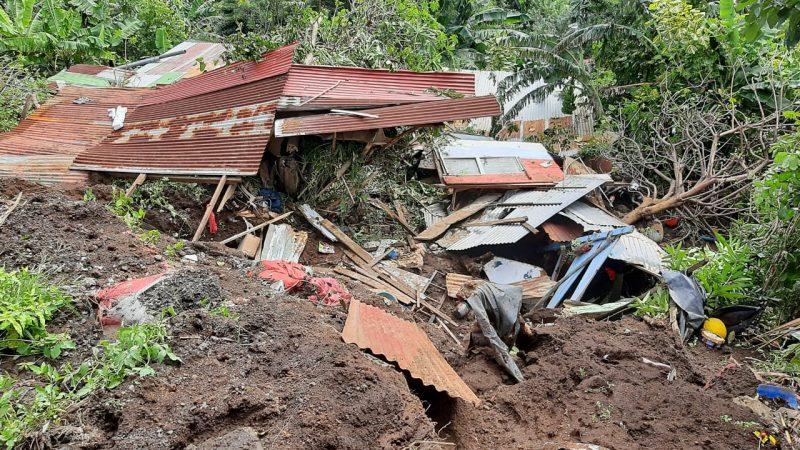 Gobierno garantiza nuevas viviendas a víctimas del deslave en El Crucero Managua. Por Jerson Dumas/Radio La Primerísima
