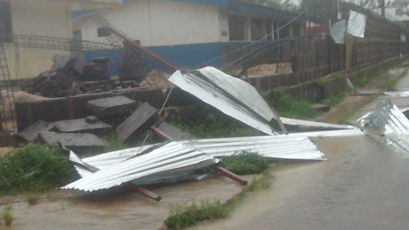 No se reportan pérdidas humanas tras llegada del ciclón ETA Managua. Radio La Primerísima