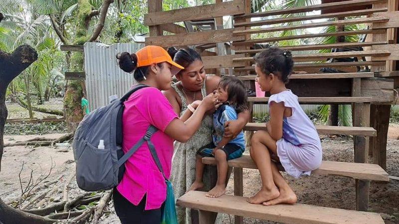 MINSA brinda más de 11 mil consultas ante emergencia por ETA Managua. Radio La Primerísima