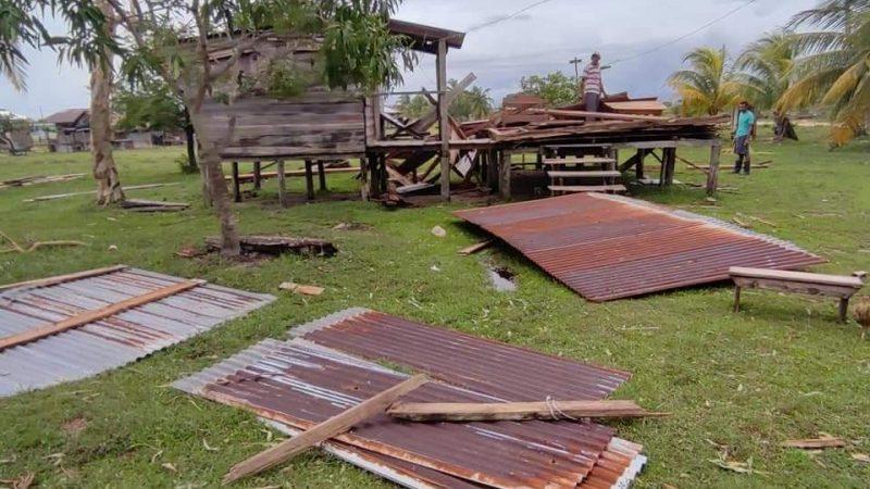 Krukira también sufrió el furioso embate de Eta Managua. Radio La Primerísima