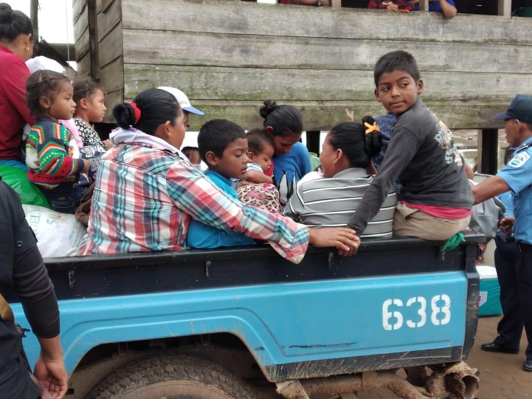 Avanza evacuación en Prinzapolka y Laguna de Perlas Managua. Radio La Primerísima
