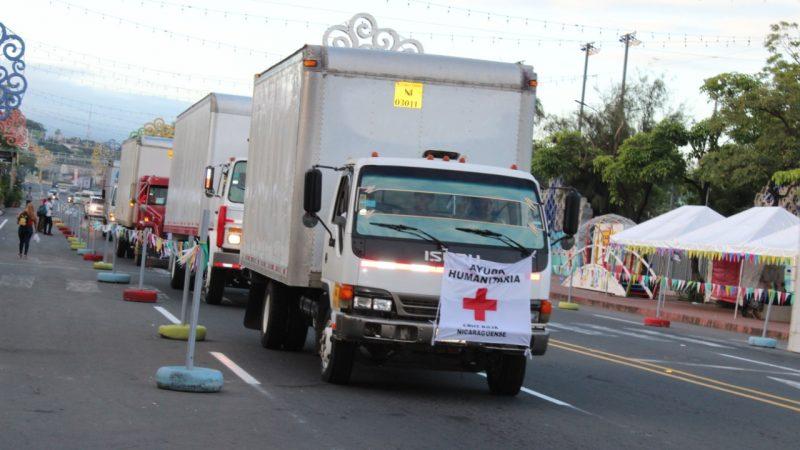 Cruz Roja envía más ayuda humanitaria al Caribe Norte Managua. Radio La Primerísima