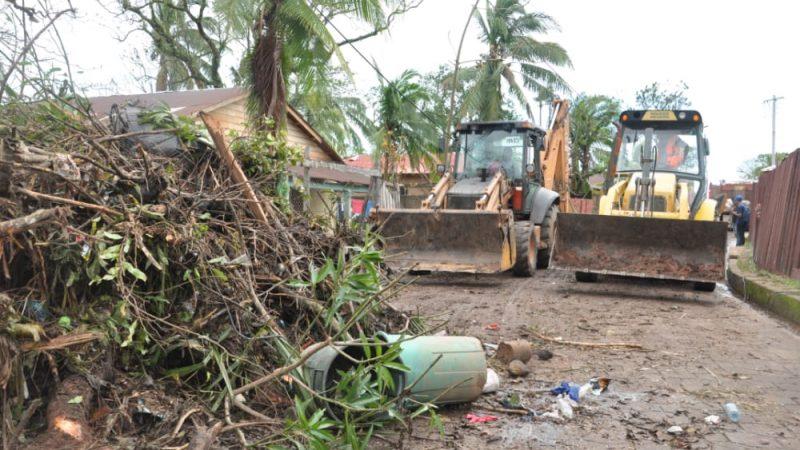 Avanza en un 70% la limpieza de la ciudad de Bilwi Managua. Radio La Primerísima