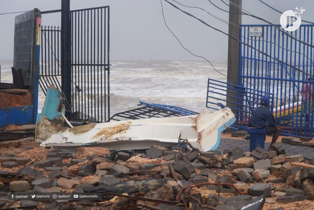 Imágenes de la devastación de Bilwi Bilwi. Por Darwin Estrada, Juventud Presidente