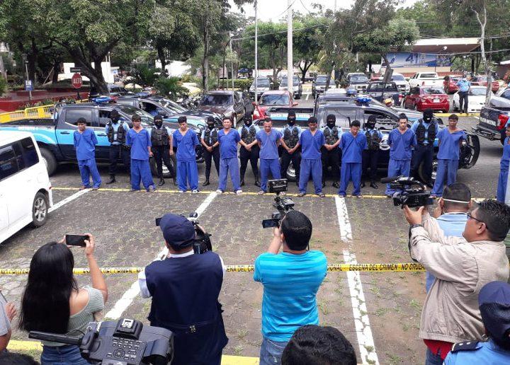 Delincuentes de alta peligrosidad son capturados por la policía