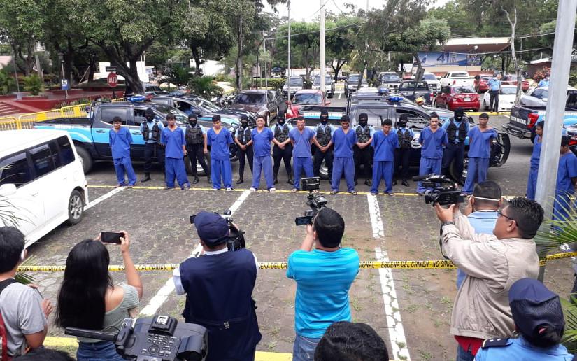 Delincuentes de alta peligrosidad son capturados por la policía Managua. Radio La Primerísima