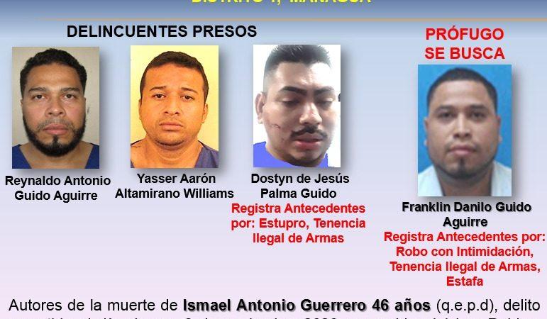Capturan a otro de los sujetos implicado en la muerte de ciudadano en Managua Jerson Dumas. Radio La Primerísima