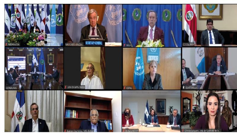 Histórico diálogo por el futuro de la región, el primero en 30 años Guatemala. Prensa SICA