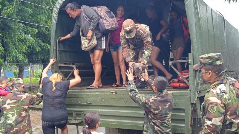 Nueve mil efectivos del Ejército en disposición ante emergencia Nueve mil efectivos del Ejército en disposición ante emergencia