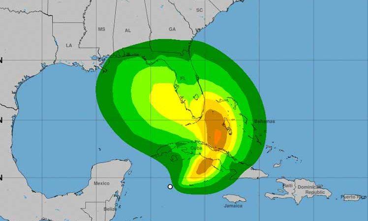 """Tormenta tropical """"ETA"""" amenaza centro de Cuba Washington. Prensa Latina"""