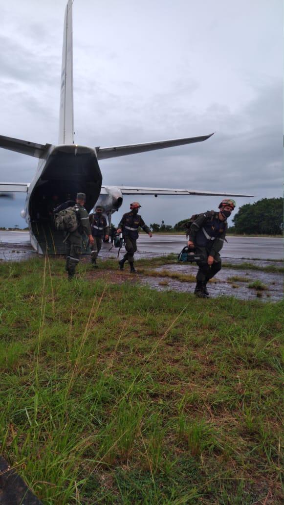 Ejército moviliza a Unidad Humanitaria de Rescate a Puerto Cabezas Bilwi. Radio La Primerísima