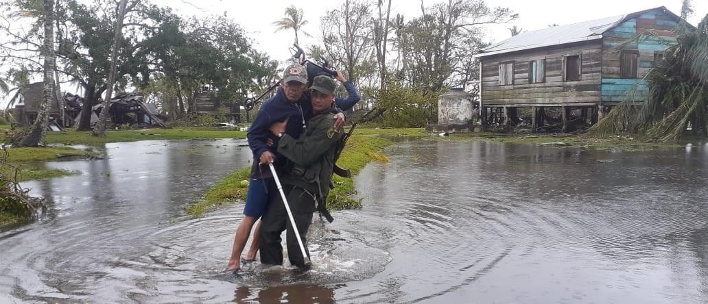 Ciclón ETA arrasó Wawa Bar Managua. Radio La Primersíma