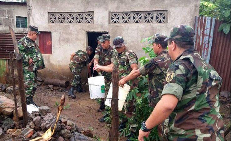 Ejército mantiene apoyo a población de lugares afectados por Eta Lisbeth González. Radio La Primerísima