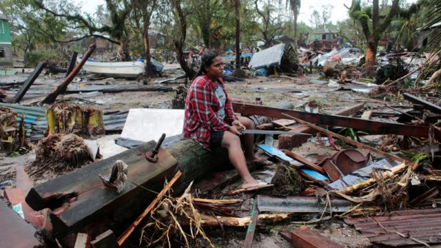 Iota mató a 18 personas Managua. Radio La Primerísima