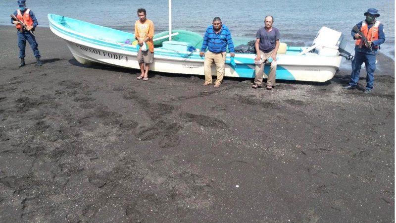 Retienen a salvadoreños por pesca ilegal en aguas nicaragüenses Managua. Radio La Primerísima