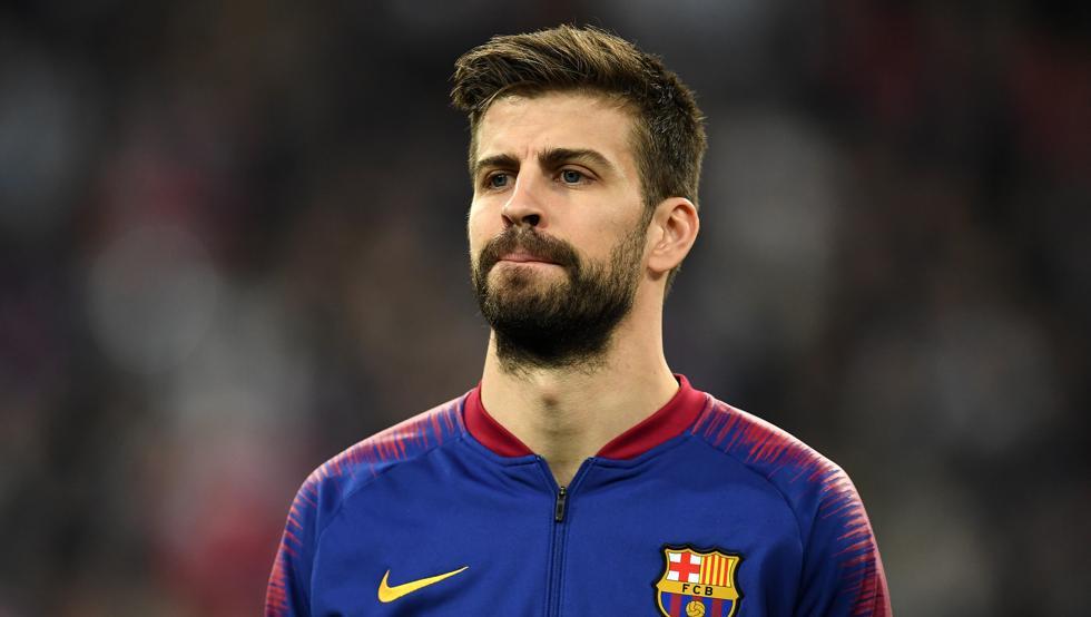 Piqué estará fuera del Barcelona entre cuatro a seis meses ESPN