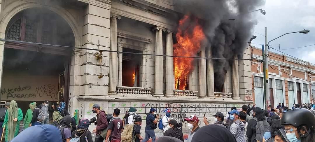 Graves incidentes en Guatemala Ciudad de Guatemala. Agencias