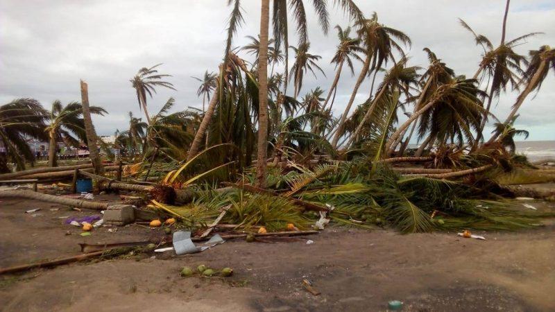 Haulover, el paraíso destrozado por los vientos Bilwi. Radio La Primerísima.