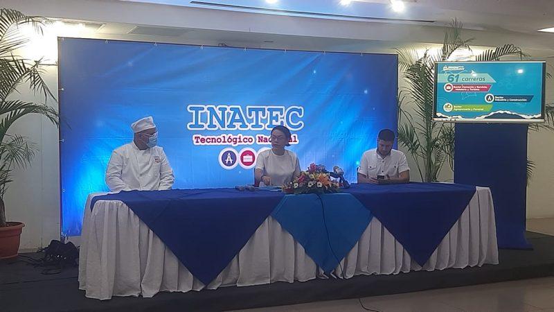 INATEC ofrece más de 40 mil cupos para carreras técnicas Managua. Por Douglas Midence/Radio La Primerísima