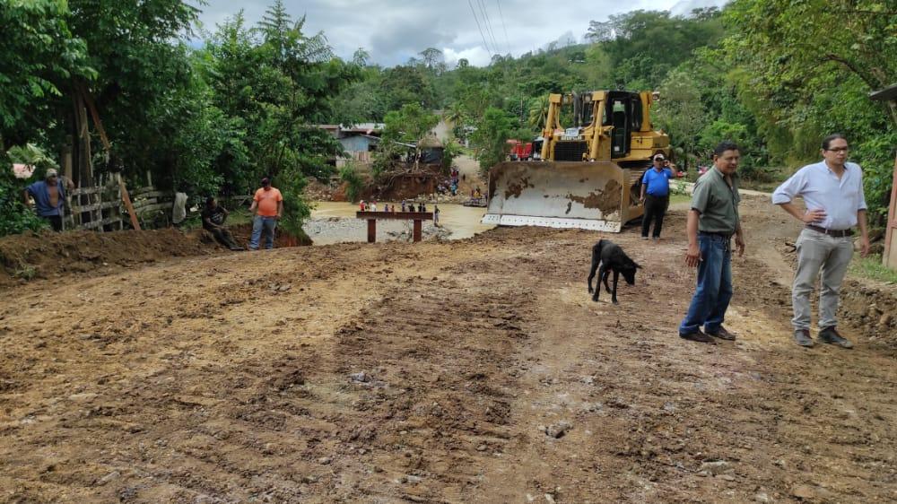 MTI avanza en la rehabilitación de caminos en Siuna Managua. Radio La Primerísima