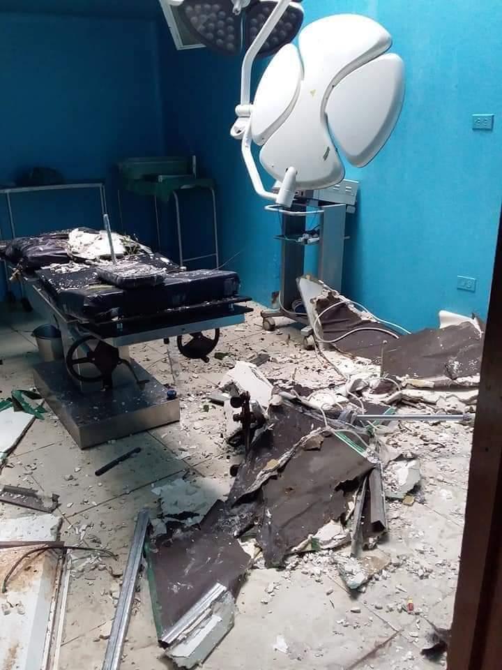 Eta causó daños en hospital Nuevo Amenacer en Bilwi Managua. Radio La Primerísima