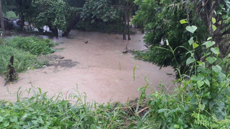 Lluvias en San Juan del Sur provocan crecidas de ríos Managua. Radio La Primerísima