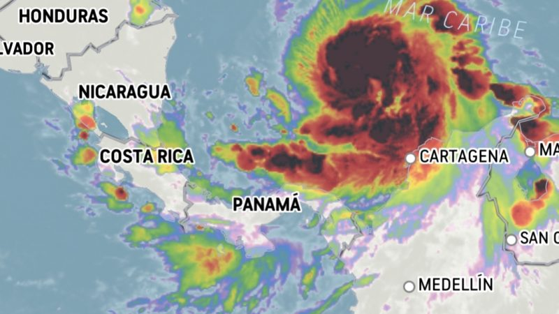 Iota es huracán categoría 1, es muy grande y será muy intenso cuando golpee el Caribe Norte Managua. CNH/Radio La Primerísima