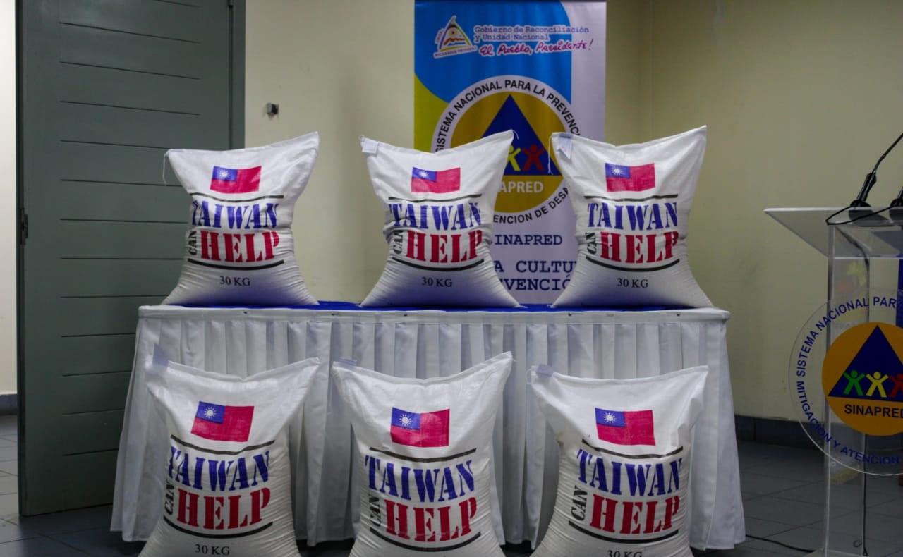 Taiwán dona 800 toneladas de arroz para el Caribe Norte Managua. Radio La Primerísima