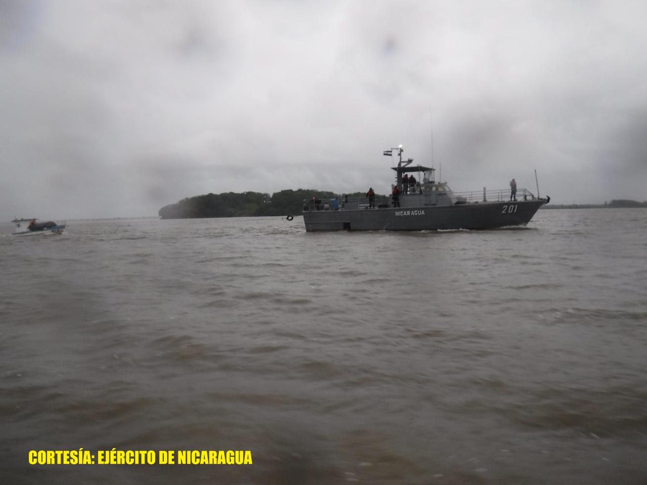 Tres pescadores rescatados por Fuerza Naval en Caribe Sur Managua. Radio La Primerísima.