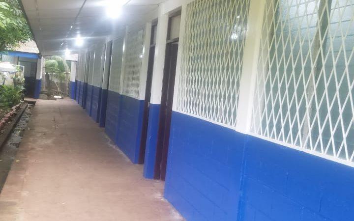Rehabilitan centro escolar en El Rosario, Carazo Managua. Por Manuel Aguilar/Radio La Primerísima