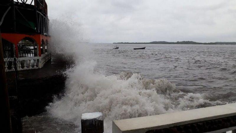 Fuerza Naval mantiene monitoreo de fenómeno meteorológico Managua. Radio La Primerísima