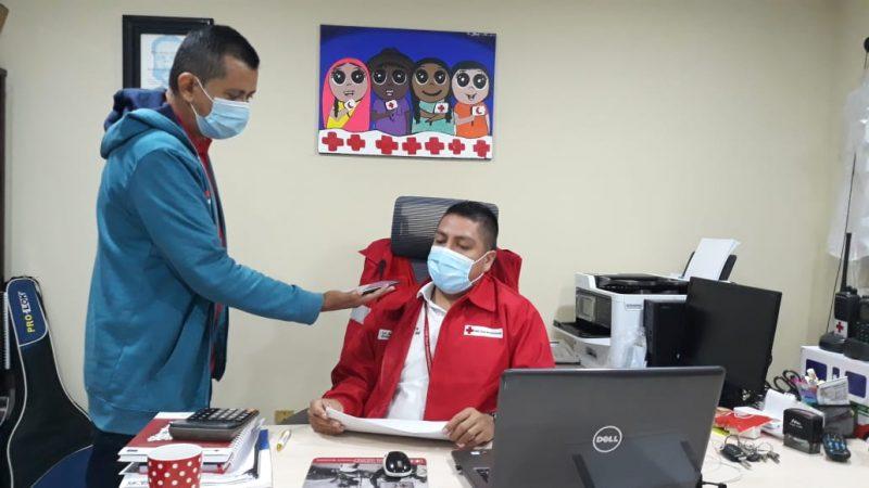Cruz Roja activa 1,520 voluntarios para atender emergencias Managua. Por Douglas Midence/Radio La Primerísima