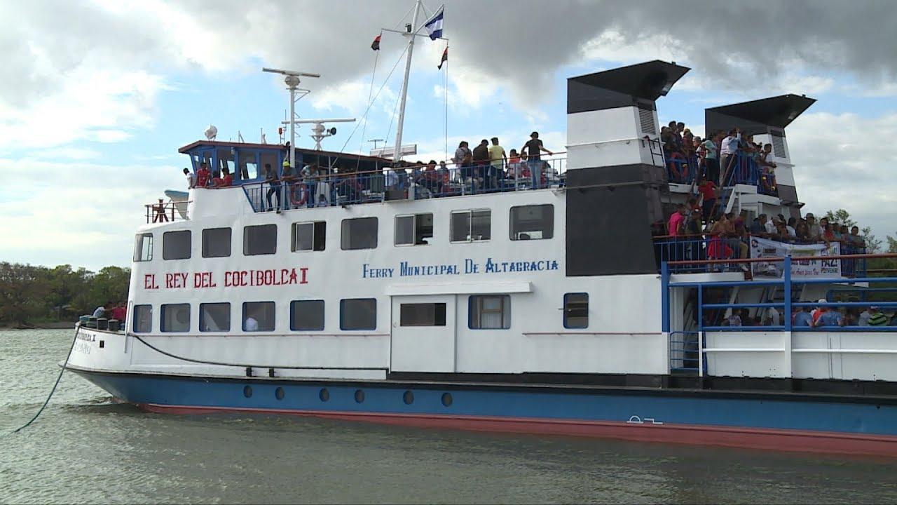 Suspenden zarpes en lagos Xolotlán y Cocibolca Managua. Radio La Primerísima