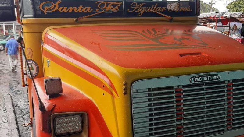 Buses Managua-Rivas operan normalmente Managua. Por Jaime Mejía/Radio La Primerísima