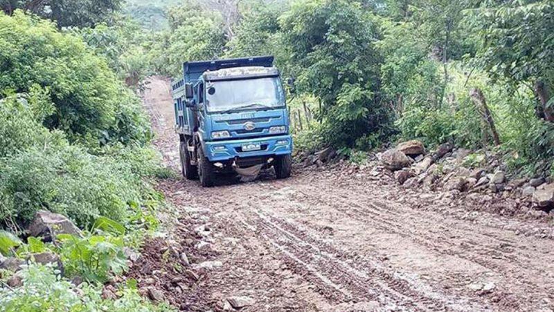 Lluvias dañaron caminos productivos en municipio San Francisco Libre Managua. Por Jaime Mejía/Radio La Primerísima